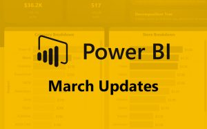 power bi march
