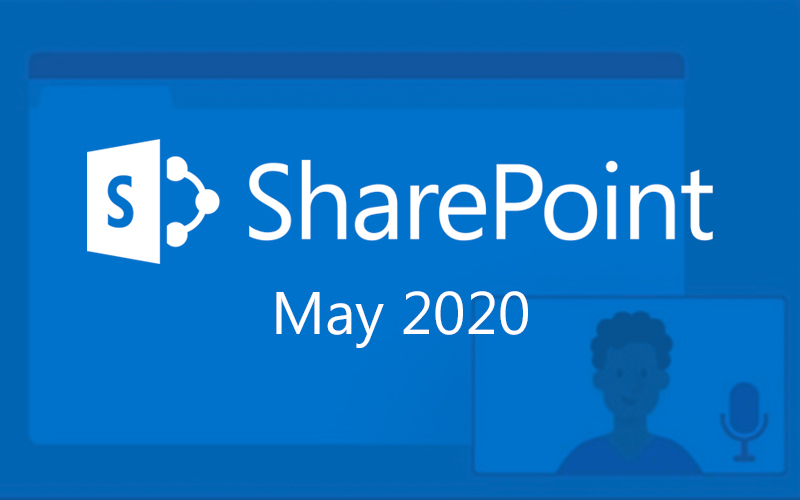 sharepoint may 2020