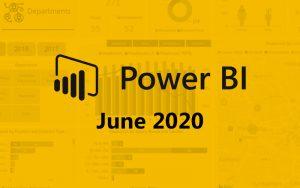 Power BI june 2020
