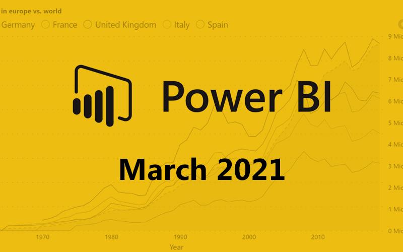 Power BI march